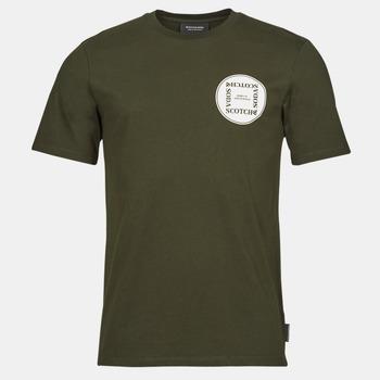 衣服 男士 短袖体恤 Scotch & Soda GRAPHIC LOGO T-SHIRT 黄褐色