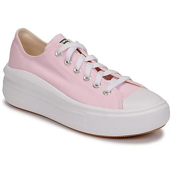 鞋子 女士 球鞋基本款 Converse 匡威 CHUCK TAYLOR ALL STAR MOVE SEASONAL COLOR OX 玫瑰色
