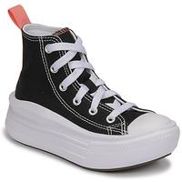 鞋子 女孩 高帮鞋 Converse 匡威 CHUCK TAYLOR ALL STAR MOVE CANVAS HI 黑色 / 玫瑰色
