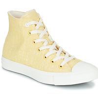 鞋子 女士 高帮鞋 Converse 匡威 CHUCK TAYLOR ALL STAR HYBRID TEXTURE HI 黄色