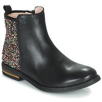 鞋子 女孩 短筒靴 Acebo's 9917VE-NEGRO-T 黑色
