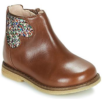 鞋子 女孩 短筒靴 Acebo's 3202-CUERO-C 棕色