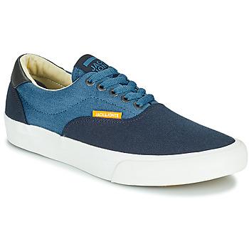 鞋子 男孩 球鞋基本款 Jack & Jones 杰克琼斯 JR MORK CANVAS BLOCK 蓝色