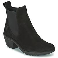 鞋子 女士 短靴 Fly London WASP 黑色