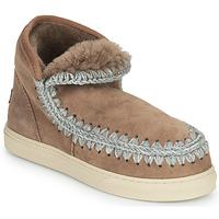 鞋子 女士 短筒靴 Mou ESKIMO SNEAKER 棕色