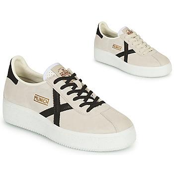 鞋子 女士 球鞋基本款 Munich Fashion BARRU SKY 米色 / 黑色