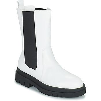 鞋子 女士 短筒靴 Moony Mood PAULA 白色