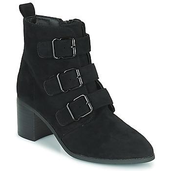 鞋子 女士 短靴 Moony Mood PAOLA 黑色