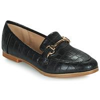 鞋子 女士 皮便鞋 Moony Mood PRIVA 黑色
