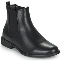 鞋子 女士 短筒靴 Moony Mood PIRYL 黑色