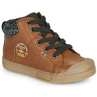 鞋子 男孩 高帮鞋 Mod'8 HERMIAN 棕色