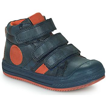 鞋子 男孩 高帮鞋 Mod'8 TALYE 海蓝色 / 橙色