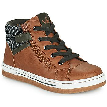 鞋子 男孩 高帮鞋 Mod'8 KYNATA 棕色