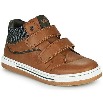 鞋子 男孩 高帮鞋 Mod'8 KYNATOL 棕色