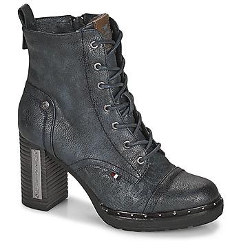 鞋子 女士 短靴 Mustang 1336502 海蓝色