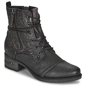 鞋子 女士 短筒靴 Mustang 1229508 黑色