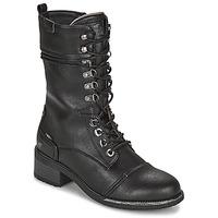 鞋子 女士 都市靴 Mustang 1402501 黑色