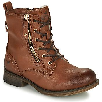 鞋子 女孩 短筒靴 Mustang 5026-623-308 棕色