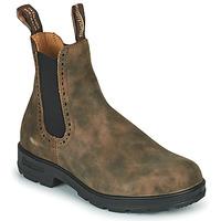 鞋子 女士 短筒靴 Blundstone ORIGINAL HIGH TOP CHELSEA BOOTS 1351 棕色