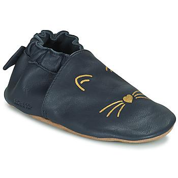 鞋子 女孩 儿童拖鞋 Robeez GOLDY CAT 海蓝色