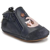 鞋子 女孩 儿童拖鞋 Robeez NICE OWL 海蓝色