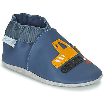 鞋子 男孩 儿童拖鞋 Robeez YARD ROAD 蓝色 / 黄色