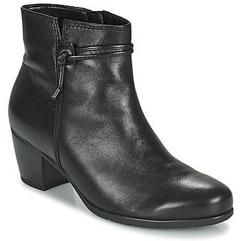 鞋子 女士 短靴 Gabor 嘉宝 7552227 黑色