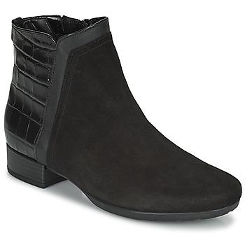 鞋子 女士 短靴 Gabor 嘉宝 7271227 黑色