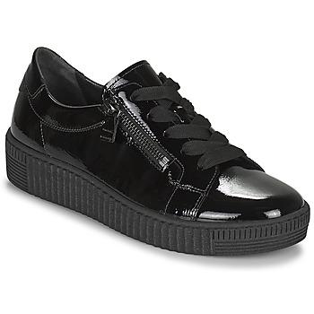 鞋子 女士 球鞋基本款 Gabor 嘉宝 7333497 黑色