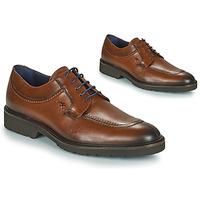 鞋子 男士 德比 Fluchos 富乐驰 CAVALIER 棕色