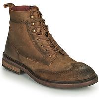 鞋子 男士 短筒靴 Fluchos 富乐驰 OWEN 棕色