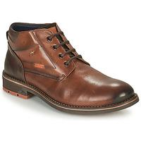 鞋子 男士 短筒靴 Fluchos 富乐驰 TERRY 棕色
