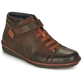 鞋子 男士 高帮鞋 Fluchos 富乐驰 ALFA 棕色