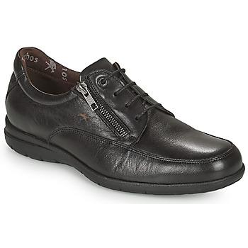 鞋子 男士 球鞋基本款 Fluchos 富乐驰 LUCA 黑色