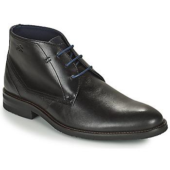 鞋子 男士 短筒靴 Fluchos 富乐驰 OLIMPO 黑色