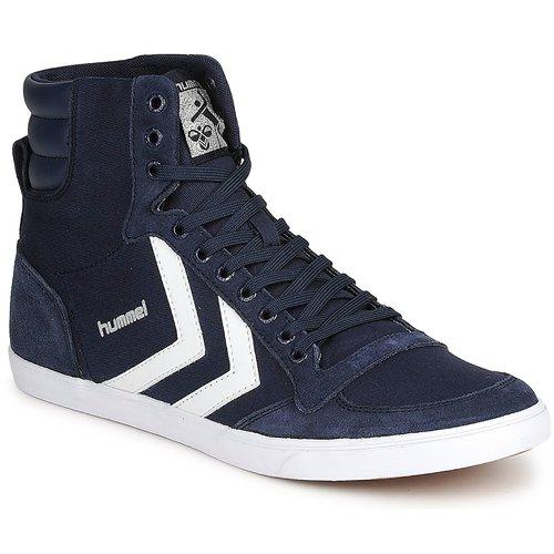 鞋子 高帮鞋 Hummel TEN STAR HIGH CANVAS 海蓝色