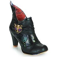 鞋子 女士 短靴 Irregular Choice MIAOW 黑色 / 绿色