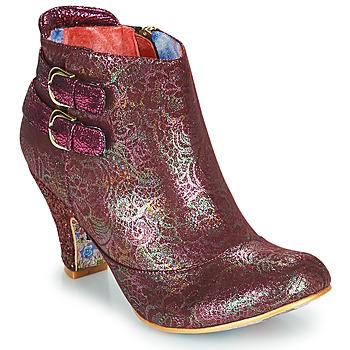 鞋子 女士 短靴 Irregular Choice THINK ABOUT IT 波尔多红