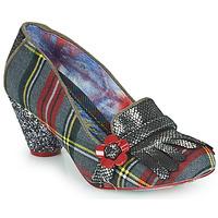鞋子 女士 高跟鞋 Irregular Choice HIGHLAND HAVEN 灰色 / 红色
