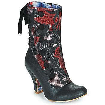鞋子 女士 短靴 Irregular Choice REINETTE 黑色 / 红色