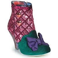 鞋子 女士 短靴 Irregular Choice DAINTY DARLING 玫瑰色 / 绿色