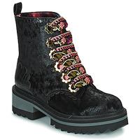鞋子 女士 短筒靴 Irregular Choice MORNING STROLL 黑色