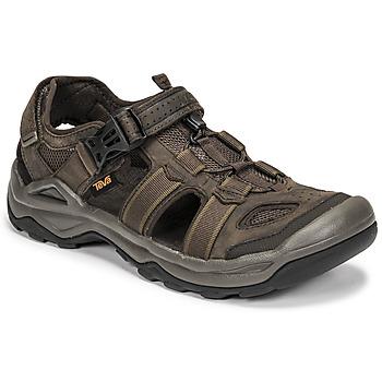 鞋子 男士 凉鞋 Teva M OMNIUM 2 LEATHER 棕色