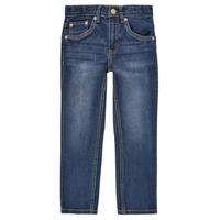 衣服 男孩 紧身牛仔裤 Levi's 李维斯 511 SLIM FIT JEANS 蓝色