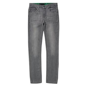 衣服 男孩 牛仔铅笔裤 Levi's 李维斯 510 SKINNY FIT ECO PERFORMANCE JEANS 蓝色