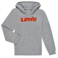 衣服 男孩 卫衣 Levi's 李维斯 GRAPHIC PULLOVER HOODIE 灰色