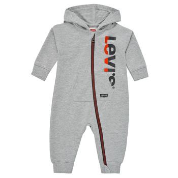 衣服 男孩 连体衣/连体裤 Levi's 李维斯 PLAY ALL DAY COVERALL 灰色