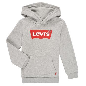 衣服 男孩 卫衣 Levi's 李维斯 BATWING SCREENPRINT HOODIE 灰色