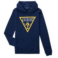 衣服 男孩 卫衣 Guess CAMILA 海蓝色