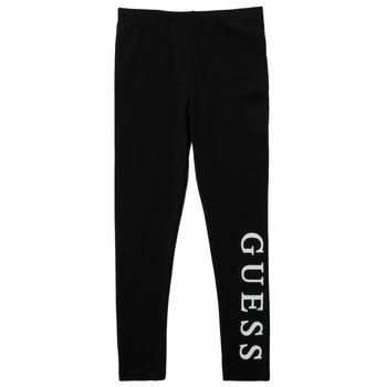衣服 女孩 紧身裤 Guess PELINNA 黑色